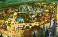 Construction walls go up in Fantasyland