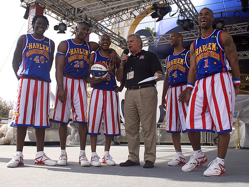 Harlem Globetrotters at ESPN Wide World of Sports Opening