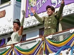 Princess Tiana at Disneyland Princess Fantasy Faire