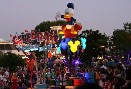 Musical Summer Nightastic events added at Walt Disney World