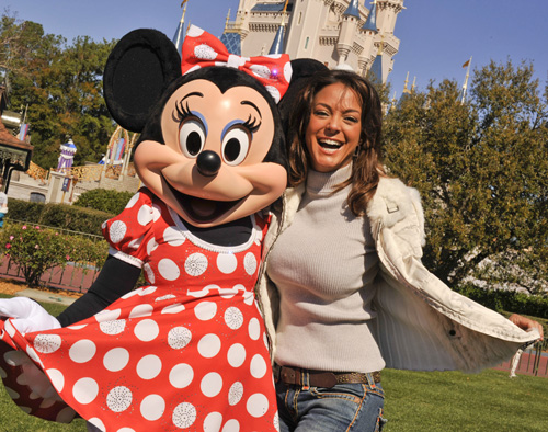 Disney Pic of the day – Eva La Rue at Disneyworld