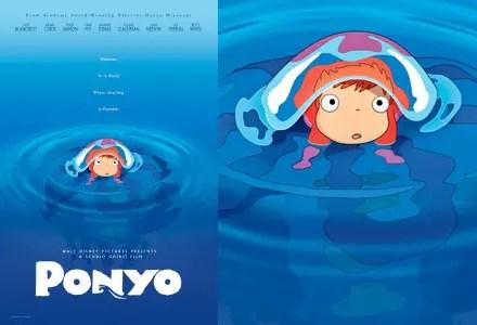 Disney's Ponyo Blu-ray Combo Pack Free Giveaway!