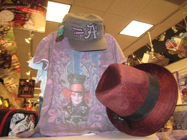 Alice In Wonderland Gear is at Claire's