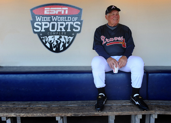 Disney Farewell for Bobby Cox from ESPN Wide World of Sports Complex