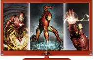 Officially Licensed Marvel Comic 'Iron Man' LCD & LED HDTVs