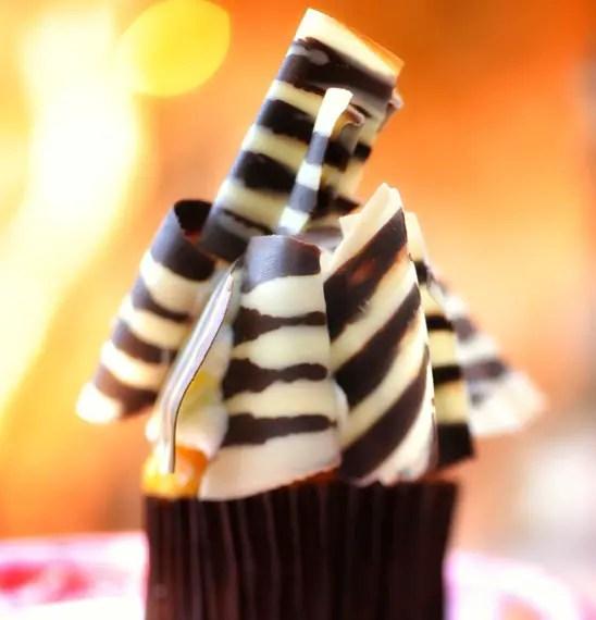 Disney Food Confession – Zebra Cupcake