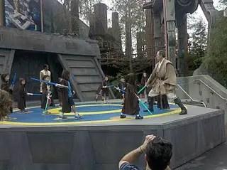 Ask a Disney Question:  Jedi Training Academy.