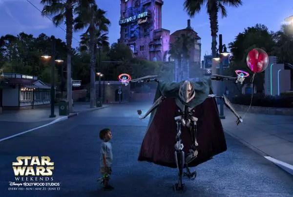 Building a Disney Star Wars Weekends Ad