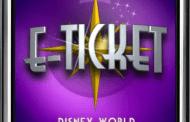 iPhone's eTicket for Disneyworld and Disneyland Update