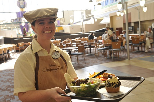 Get a Disney Dining Discount on Merchandise when you eat at a Quick Service Location