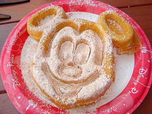 Disney Food Confessions – Mickey Mouse Waffles