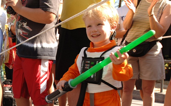 Disney Pic of the Day – Young Jedi in Training