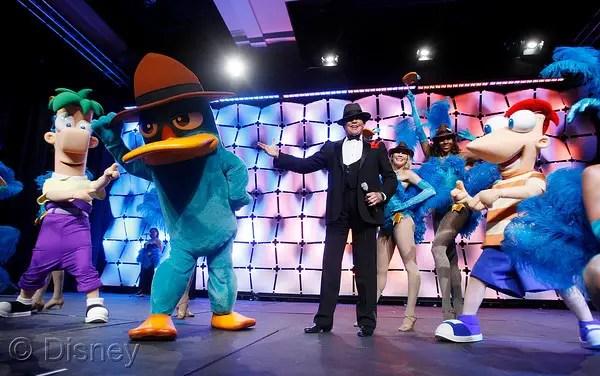 "Wayne Newton Performs Disney ""Phineas and Ferb"" Vegas Musical Spectacular"
