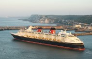 Disney Cruise Line makes inaugural call to Port of Dover, England
