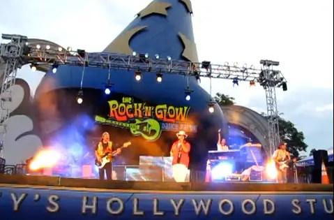 Disneyworld Rock n Glow Dance Party Video