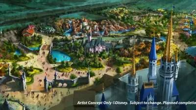 Disney says Fantasyland expansion plans are changing
