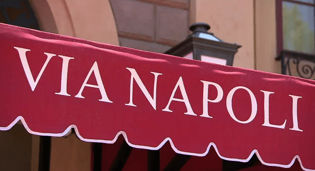 Via Napoli Epcot Pizzeria Tour