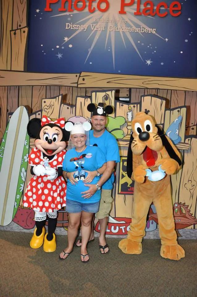 Disney Rewards Visa Character Meet 'N' Greet