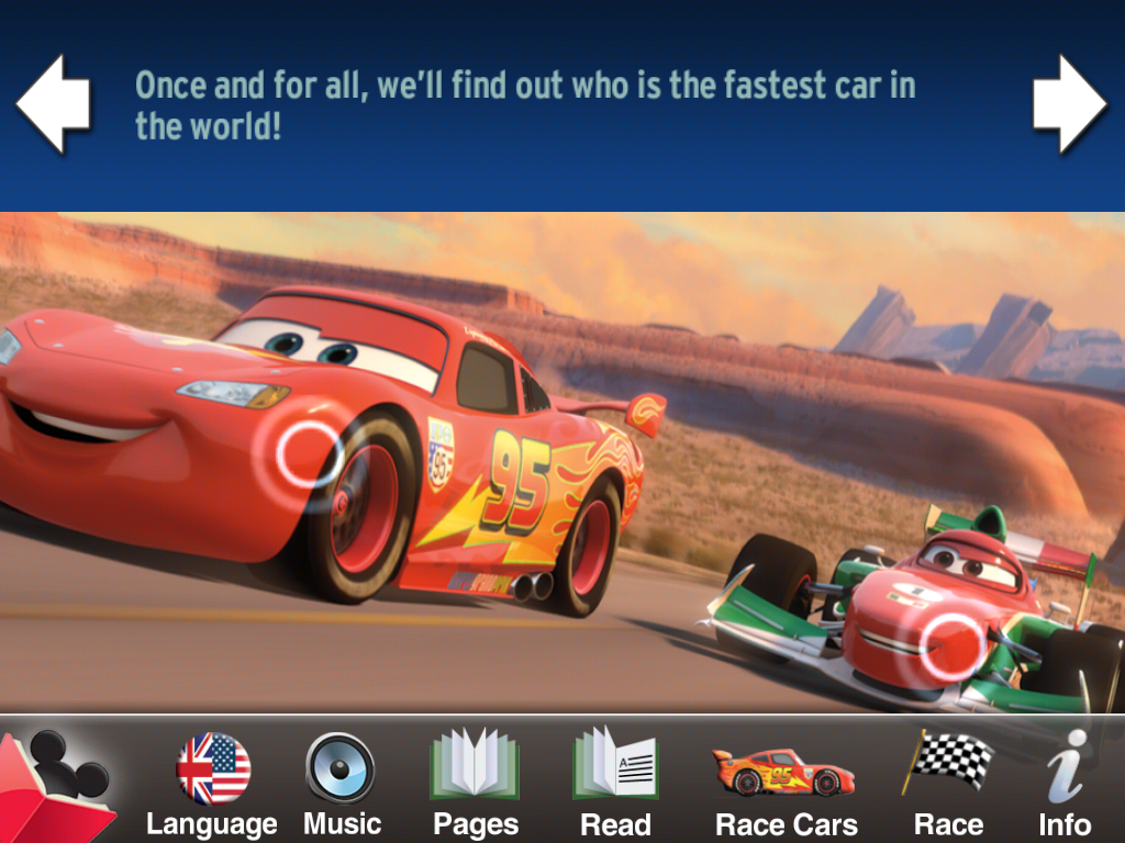 Cars 2 World Grand Prix Read And Race App