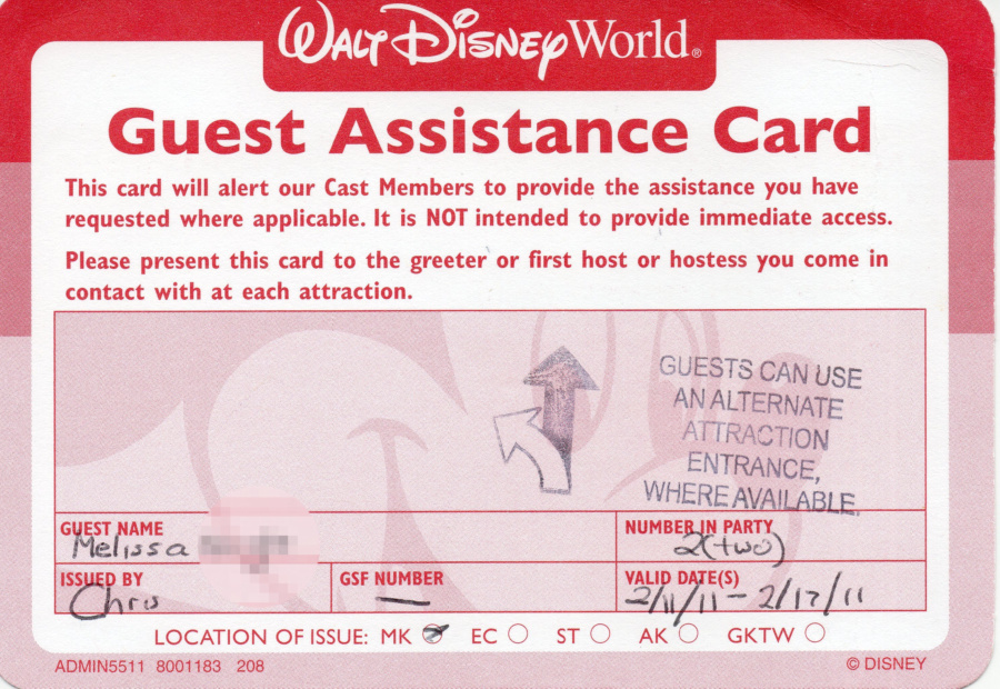 Lawsuit Filed Against Disney's Disability Access Service
