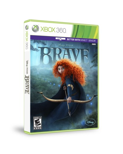 BRAVE Video Game for XBOX 360