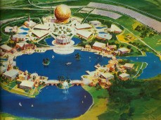 epcot early concept