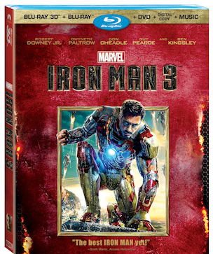 Iron Man 3 Blu-ray and DVD Bonus Features Unveiled