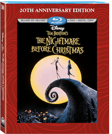 The Nightmare Before Christmas 20th anniversary Blu-ray and DVD coming soon!