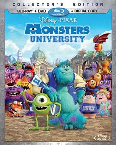 Monsters University Blu-Ray/DVD Pre-Order Now Available