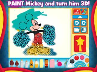 Paint and Play with Mickey Mouse Clubhouse