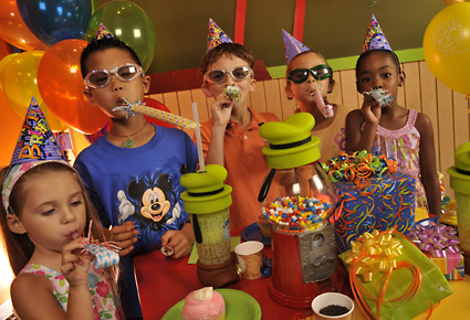 Having your own Disney World Themed Birthday Party!