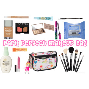 Packing the Park Perfect Disney Makeup Bag