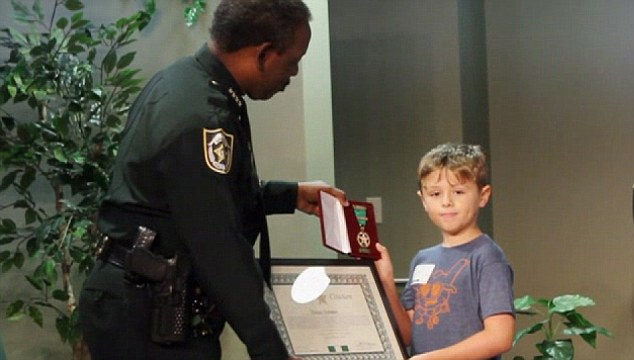 Young British Tourist Honored with an Award for saving little girls life