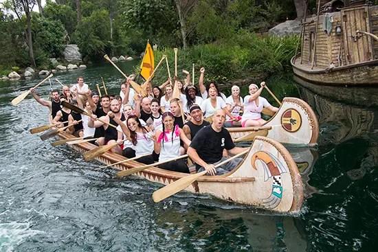 Disneyland Resort Canoe Races Celebrate 50 Years