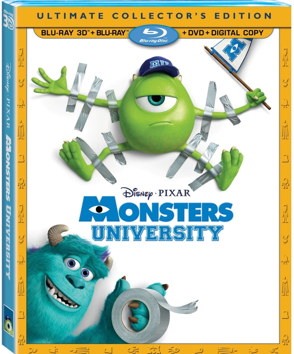 Monsters University Coming to Blu-ray and DVD on October 8, 2013