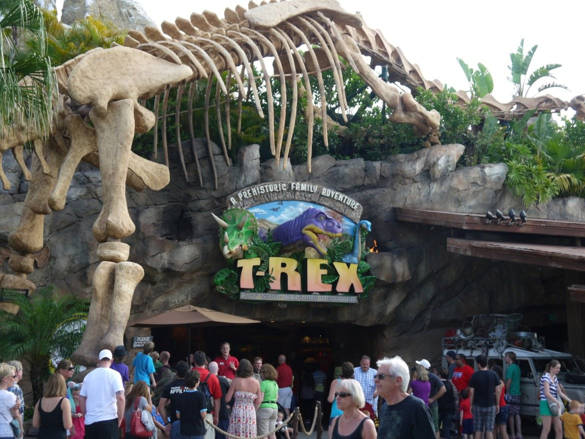 Disney Power Outage at T-Rex in Downtown Disney