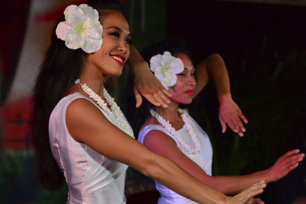 Cast Members Take the Stage at a National Hula Competition