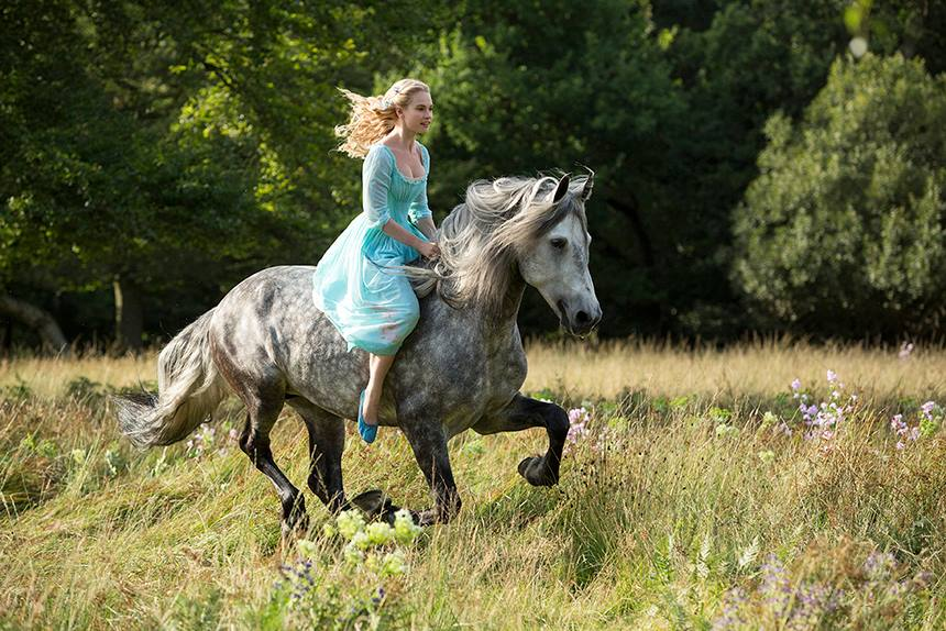 Disney begins production on Live Action Cinderella