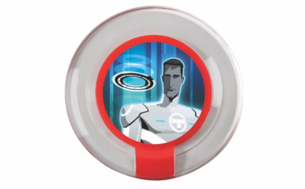 """Disney Infinity"" Tron Power Disc Sold Exclusively at Toys R Us"