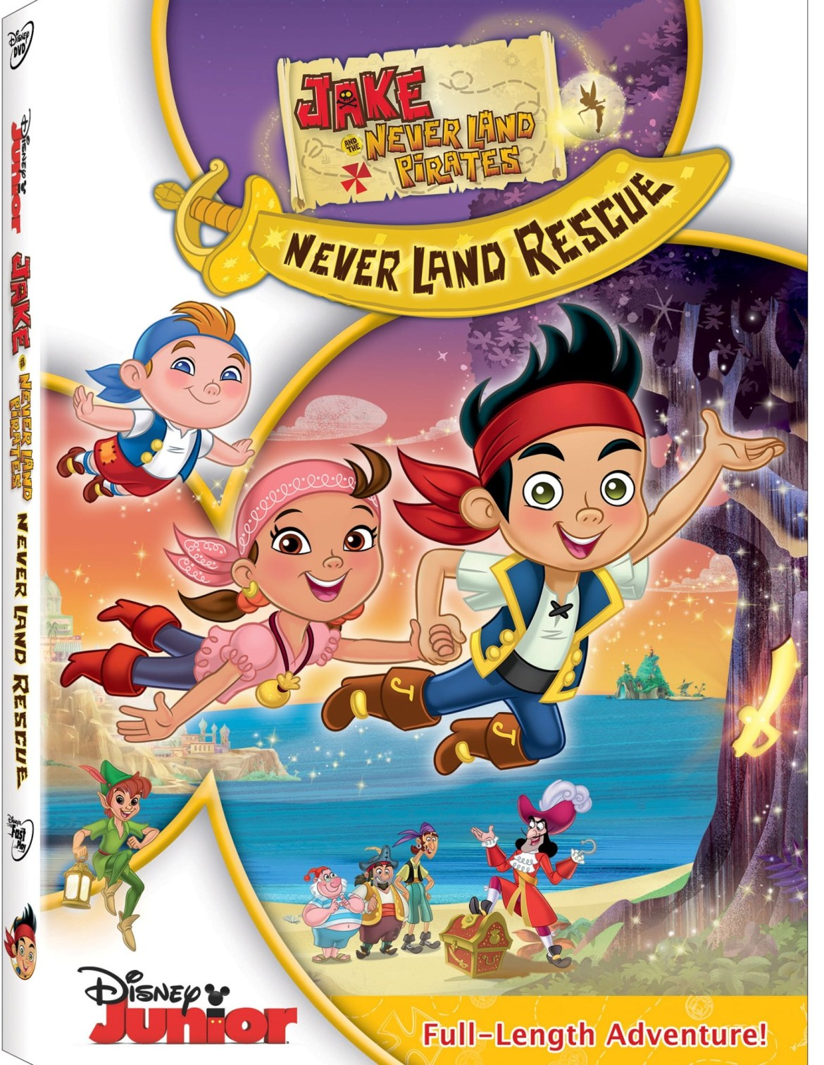 Jake and the Never Land Pirates: Never Land Rescue comes to DVD November 19