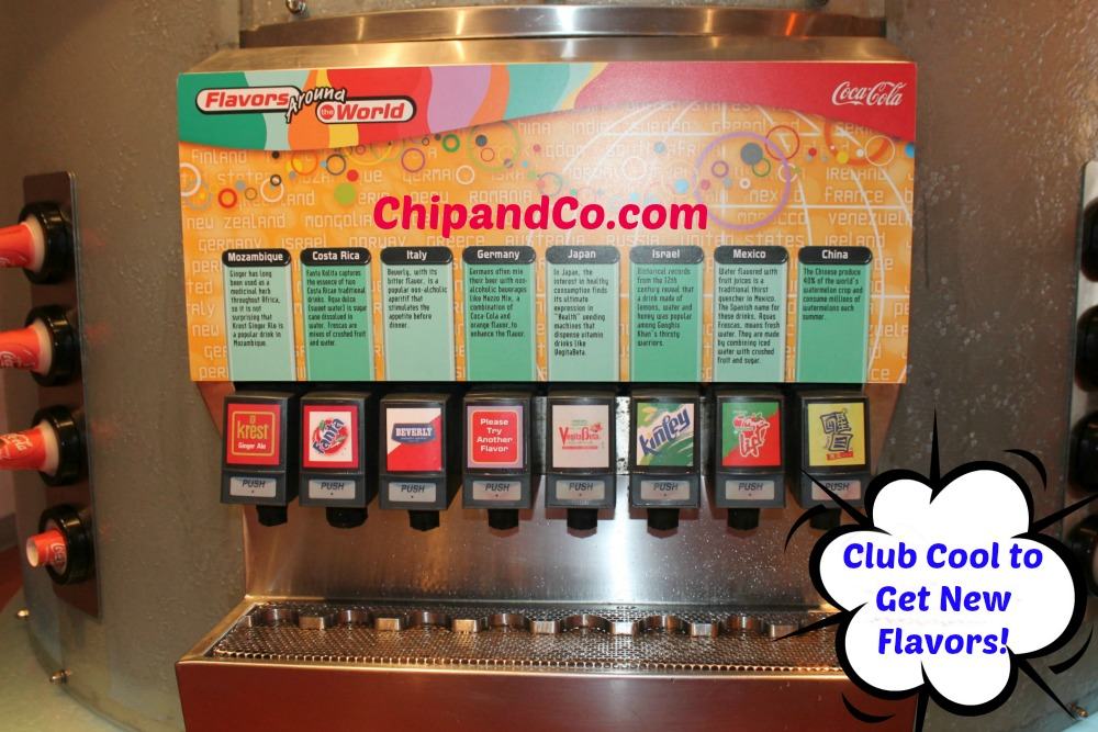 New Flavors at Epcot's Club Cool