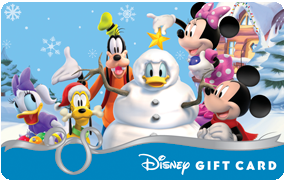$1000 Disney Gift Cards Giveaway