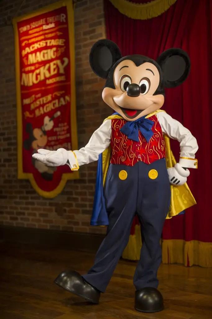 Talking Mickey Mouse is New at Magic Kingdom in Walt Disney World