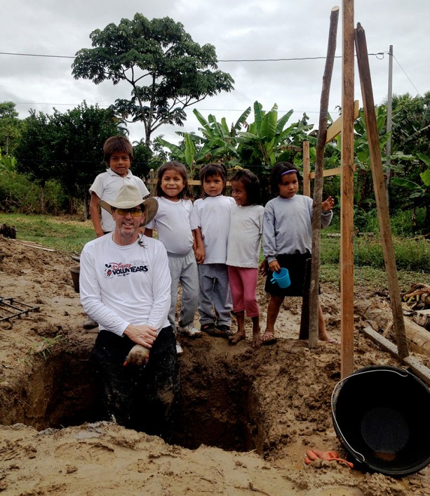 Disney VoluntEARS Help Build a Classroom in Ecuador