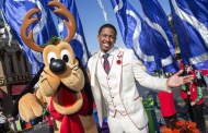 Stars Came out for the Taping of the 2013 Disney Parks Christmas Day Parade at Disneyland