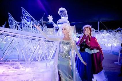 Frozen Ice Sculptures