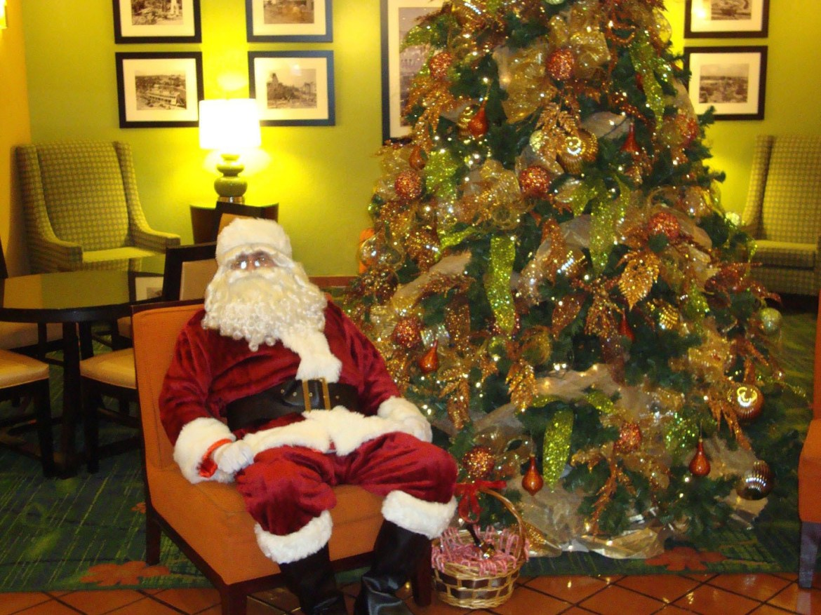 Visit & stay with Santa at Disneyland