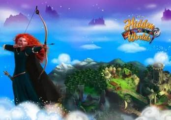 """""""Brave"""" Scenes Released in Disney's Hidden Worlds Game"""
