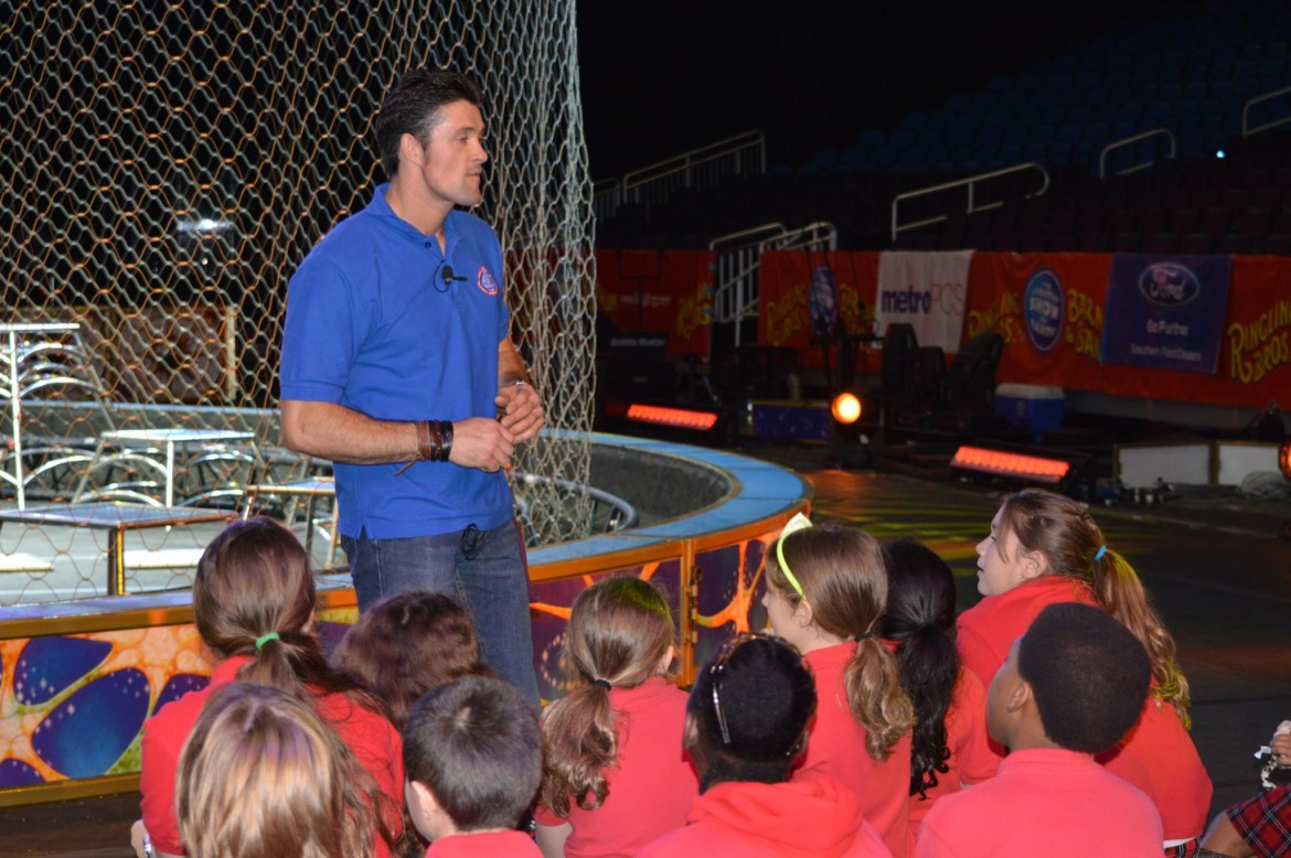 Ringling Brothers Circus presents Big Cat Care Clinic