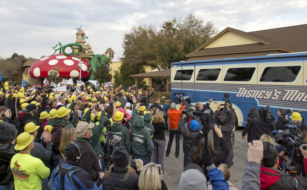 "Disney Cast Members Help With an ""Extreme Village Makeover"""